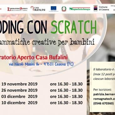 Coding per bambini e memorie digitali: Laboratori aperti a Casa Bufalini