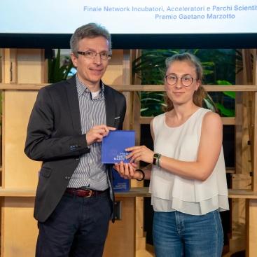 Premio di Romagna Tech ad EmatiK, nell'ambito del Premio Marzotto 2019