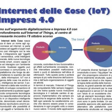 L'Internet delle Cose (IoT) e Impresa 4.0